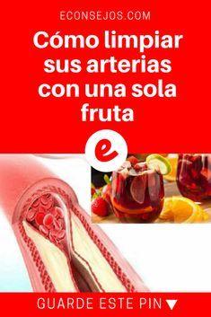 Arterias limpias | Cómo limpiar sus arterias con una sola fruta | Con una única fruta, usted limpiará sus arterias, disminuyendo el riesgo de enfermedades del corazón. Lea y sepa cómo. Health And Nutrition, Health Care, Health Fitness, Smoothie Drinks, Healthy Smoothies, Home Remedies, Natural Remedies, Acupuncture Points, Cholesterol Levels