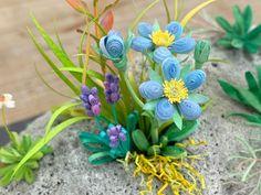 小紙クラフト - Kogami Craft Paper Quilling Designs, Quilling Ideas, Plants, Plant, Planets