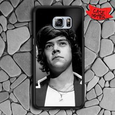 Harry Styles Samsung Galaxy S6 Edge Black Case
