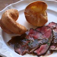 Roast Beef with Yorkshire Pudding Recipe | SAVEUR