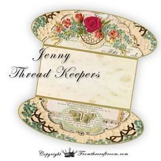 Jenny /Lace or thread Keepers