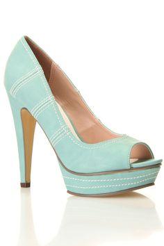 Kamea Shoes In Mint