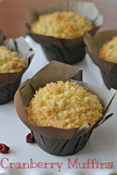 We love these Cranberry Orange Muffins from @SouthernKissed