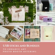 USB's and Photography Packages to improve Photo Booth offerings. http://bit.ly/2sasYkt #photobooth #weddingphotobooth #photographers #weddings #usb #usbbundles