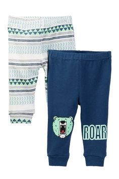 Rosie Pope Mountain Man & Bear Print Pants | Nordstrom Rack