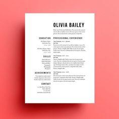 CV : comment faire simple et beau ?