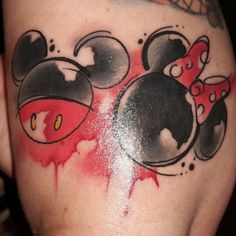 Artistic Mickey and Minnie
