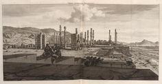 Vierde gesigt van Persepolis - 1704 - Cornelis de Bruijn - New York Public Library - Digital Collections