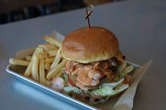 Surf & Turf Burger from Slapfish