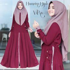 Vira Original by Humaira Hijab Muslim Dress, Hijab Dress, Abaya Fashion, Muslim Women, Sewing Techniques, The Originals, Model, Dresses, Vestidos