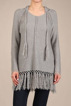 A Day of Love Grey Sweater