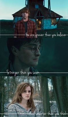 Ron Weasley, Harry Potter, Hermione Granger.
