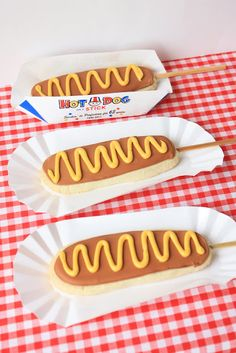 Munchkin Munchies: Corn Dog Cookies looks like an idea for someone's famous sugar cookies