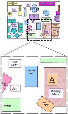 inviting preschool classroom arrangements- this classroom is too