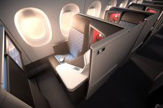 the Vantage XL Suite used for Delta Air Line's new Airbus A350 Delta One business class suites.