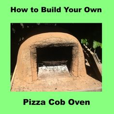We built our first cob pizza oven at a Permaculture course. Then made more cob ovens at home. Step by step guide for building your own cob pizza ovens.