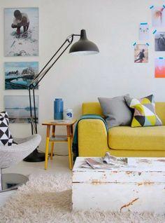 Móveis coloridos: tendências para 2014