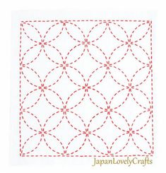The Beauty of Japanese Embroidery - Embroidery Patterns Embroidery Stitches Tutorial, Learn Embroidery, Embroidery For Beginners, Hand Embroidery Patterns, Embroidery Techniques, Shashiko Embroidery, Graph Paper Art, Easy Stitch, Japanese Embroidery