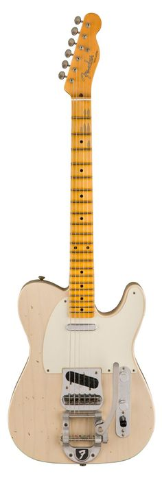 Fender Limited Edition Journeyman Relic Twisted Telecaster – Aged White Blonde Front