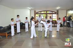 Assistência Social promove troca de cordas das oficinas de capoeira