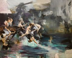 Artistaday.com Europe: Paris, France artist Julien Spianti via @artistaday