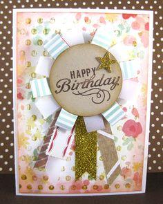 paperheARTproject: Nana's Birthday Card