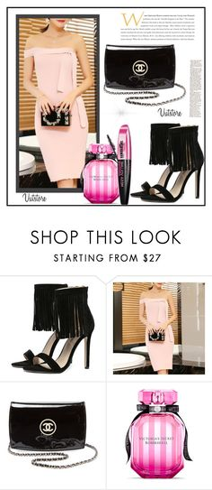 """""""Best Looks"""" by miranda-993 ❤ liked on Polyvore featuring Chanel, Victoria's Secret, L'Oréal Paris and vutstore"""