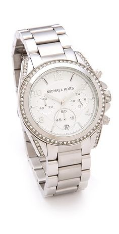 Michael Kors Blair Watch SILVER (like this one more) Mk Watch, Gold Watch 70e250124cc6