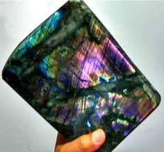 4370g Natural Labradorite Crystal Rough Polished From Madagascar