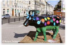 N° 33 - la ronde des quartiers de Bordeaux - allées de Tourny Artiste Pierre Lafage Propriétaire Association Commerçants et Artisans de Bordeaux