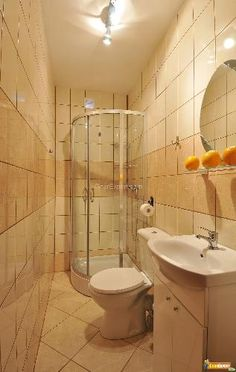 See Shower Stall  Set Up Like That Plus Hand Held  Small Enchanting Creative Small Bathroom Ideas Inspiration Design