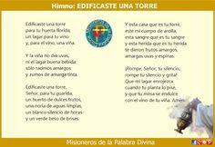 MISIONEROS DE LA PALABRA DIVINA: HIMNO LAUDES - EDIFICASTE UNA TORRE