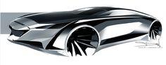 #Audi A9 - Daniel Jimenez #concept #design #sketch