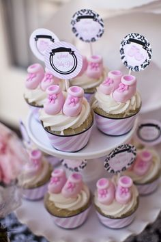 Pink and Black Damask Party