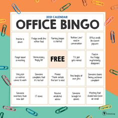 Calendar Journal, Weekly Calendar, 2021 Calendar, Office Bingo, Office Games, Large Wall Calendar, Fantasy League, January To December, Planner Sheets
