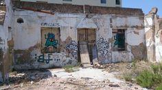 Run down building, Lagos, Portugal