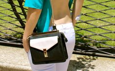 #Backless - #blog #blogger #style #streetstyle #green #openback #white #pants