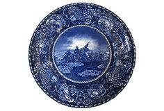 Staffordshire George Washington Plate on OneKingsLane.com