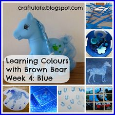 This is the fourth in my series about Learning Colours, based on the animals in the book Brown Bear, Brown Bear What Do You See?