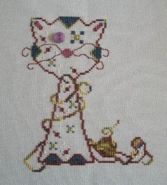 Was This Your Yarn? - Cross Stitch Pattern