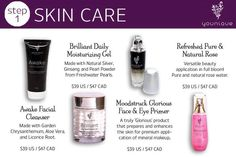 Our fab skincare products