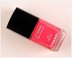 Chanel Fracas Le Vernis / Nail Colour Review, Photos, Swatches