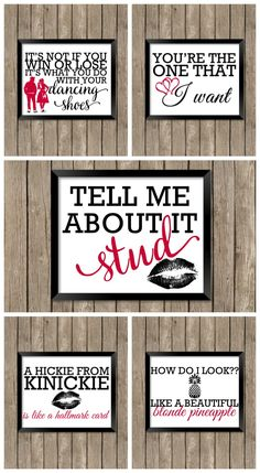 Grease Printables - Grease is still the word so celebrate your love of Sandy, Danny, and friends with these 5 free printables! Perfect to frame or as cards! Grease Themed Parties, 50s Theme Parties, Grease Party, Grease Movie, Grad Parties, Grease 2, Sock Hop Party, Grease Is The Word, Retro Party