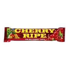 Cadbury's Cherry Ripe is Australia's oldest chocolate bar and combines juicy cherries and moist coconut, smothering them in Old Gold Dark Chocolate. --Why have I never heard of this?! I need to find one...