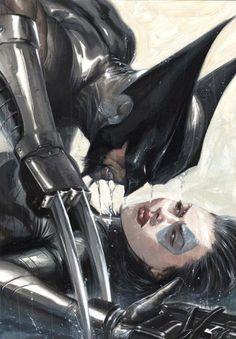 Wolverine & Domino by Gabriele Dell Otto