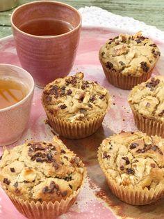 Yummy Snacks, Healthy Dinner Recipes, Breakfast Recipes, Healthy Cake, Healthy Baking, Happy Foods, Baking Recipes, Bakery, Good Food