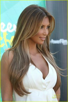 Top 10 Hairstyles For Long Straight Hair Might need to do my hair like this for spring :)