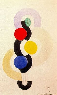 Sonia Terk (aka Sonia Delaunay, 1885~1979) was a Russian-born (as Sarah Ilinitchna Stern) French artist
