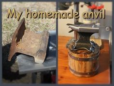 My homemade anvil - YouTube
