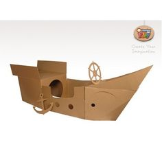 The module is constructed from environmentally friendly durable corrugated cardboard in precision die cut section form.